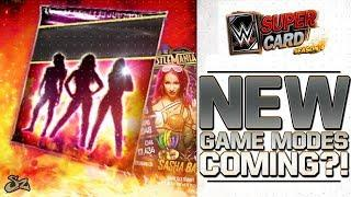 FEMALE REVOLUTION! NEW GAME MODES COMING?! | WWE SuperCard