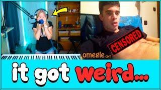 A female pianist went on Omegle, then this happened...