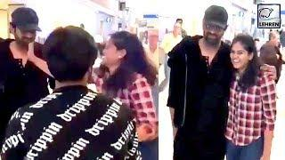 CRAZY Female Fan SLAPS Baahubali Actor Prabhas WATCH VIDEO | LehrenTV