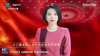 Xinhua debuts world's first AI female news anchor