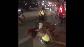 FEMALE FIGHTS BREAK OUT AT SPRING BREAK IN MIAMI [VIDEO]