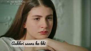 WhatsApp Status Video   Sad Song   Badnaamiyan Mili (Female Version)