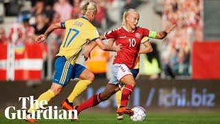 Pernille Harder: Guardian's female footballer of the year in 60 seconds