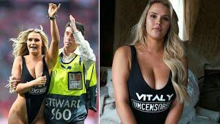 Discover The Hot girl who invades the pitch at Champions League final