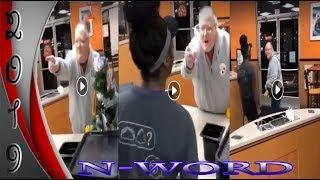 Man Gets Slapped for Calling a Female the N-Word in Public