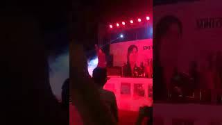 Stage show of Devi female singer