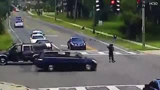 FLORIDA, Search for woman seen falling out of SUV at busy intersection
