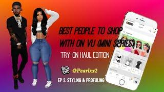 Best People To Shop With On VU| Mini Series(EP 2 PT.1 Styling)| IMVU GAMEPLAY | Female Edition