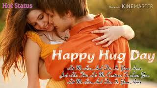 Wish Hug Day WhatsApp Status Video Female Version | Lag Ja Gale Female Version I Hot Status I
