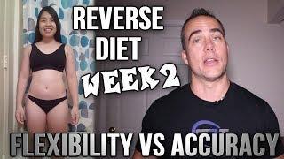Female Reverse Diet Week 2 - Reverse Dieting While Traveling