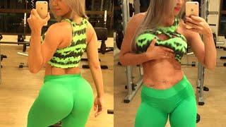???????? 5 AWESOME FEMALE FITNESS MODELS SHOW YOU BEST WORKOUT????????