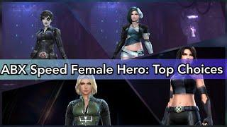 Speed Female Hero Alliamce Battle: Top Choices | ABX - Marvel Future Fight