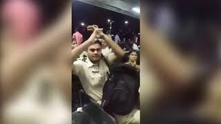 Viral Video Kalyan RPF Cop Molesting woman at Railway station gets Caught on Camera | Live Video