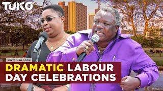 Kenya's most dramatic Labour Day celebrations  Tuko TV