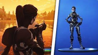 How to get the Female Skull Trooper Free in Fortnite (Works in game)
