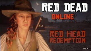 Red Dead Online - Female Character Creation Sliders for Red Dead Redemption 2 Red Head Fashion