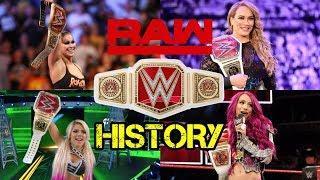RAW Women's Championship History [2016-2019] Updated