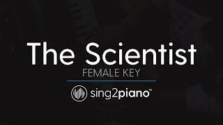 The Scientist (Female Key - Piano Karaoke Instrumental) Coldplay