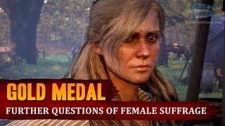 Red Dead Redemption 2 - Mission #25 - Further Questions of Female Suffrage [Gold Medal]
