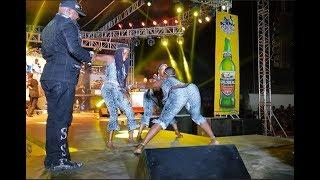 LOL! Shina Peters calls out female dancers for Ukwu shaking Competition At ARIYA REPETE 2018