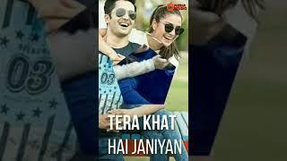 Tera Khat Hai....Female Version Full Screen Whatsapp Status Video | new love status
