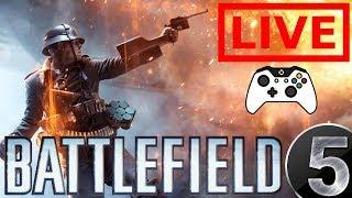 Battlefield V | Xbox One | Live Stream | Come Hang Out | The Director