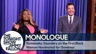 Yamaneika Saunders on the First Black Woman Nominated for Governor - Monologue