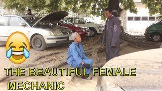 THE BEAUTIFUL FEMALE MECHANIC - BEST COMEDIES| FUNNY VIDEOS| LATEST NIGERIAN COMEDY
