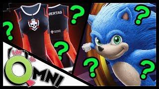 Sonic the Hedgheog & The Female Esports Dress? | #LayItOmni