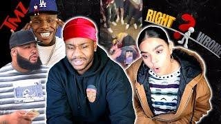RIGHT OR WRONG?! | DABABY SECURITY GUARD KNOCKS OUT FEMALE!!![REACTION]