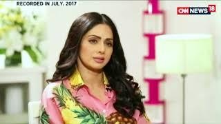 Indian cinema's biggest female superstar, Sridevi ma'am from her first film to her last film