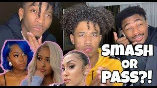 HILARIOUS SMASH OR PASS FEMALE YOUTUBER EDITION!! (MOST EXTREME IN YOUTUBE HISTORY) Ft. TAY AND DC