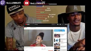 SoLLUMINATI Reacts To His Female Friend Snapping on Zias (YourRAGE Video)