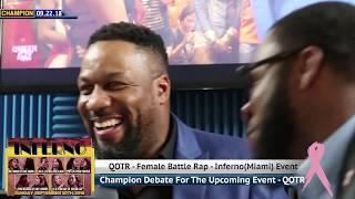 CHAMPION|  STATE OF FEMALE BATTLE RAP - DEBO - QOTR INFERNO  EVENT