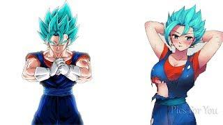 Dragon Ball Z Characters Female Version || Pics For You