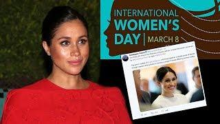 Duchess Meghan Official Solo Engagement Announced For International Women's Day