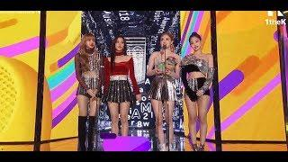 Melon Music Award 2018 I BLACKPINK Winning Best Female Dance MMA 2018