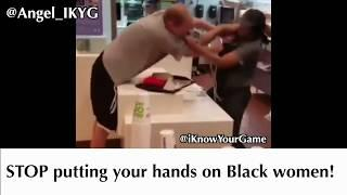 Black Female Mcdonald's Employee Serves A McWhooping To White Male That Tried To Attack Her