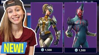 FEMALE FORTNITE PLAYER! NEW LEAKED SKINS! (Fortnite Battle Royale Live)