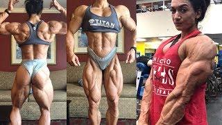 Strong Muscles Girl | Valentina Mishina IFBB Pro Female Bodybuilder