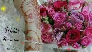 ♥️ Tere Naam female version WhatsApp status ♥️ 30 sec video status||@aalia_9_5