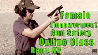 Female Empowerment Gun Safety Online Classes-Ladies Empowerment Gun Safety Online Classes-Reno NV